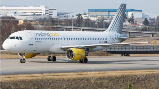 Vueling 'most delayed' airline in the UK