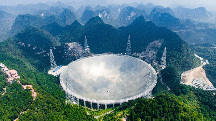 China Dispatches Massive Telescope In Search For Life Beyond Earth